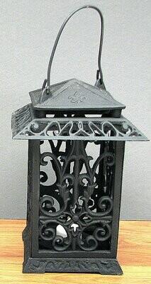 Cast Iron Square Lantern