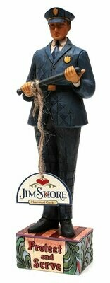 Jim Shore Police Officer