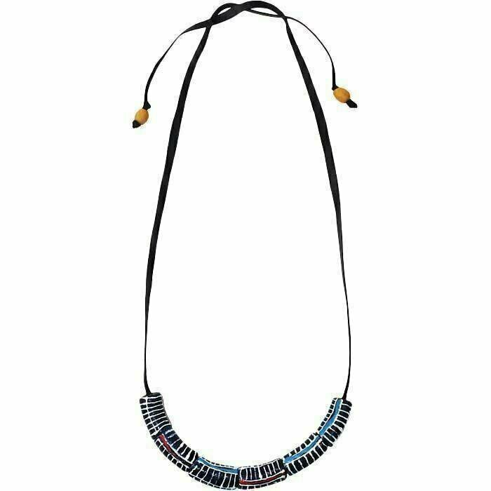 Okapi Necklace Black - Global Mamas