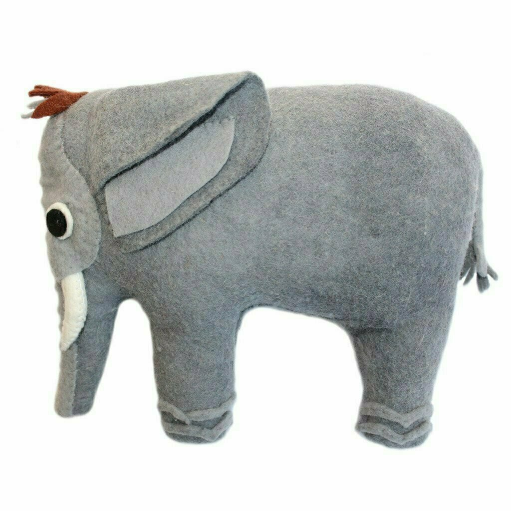 Felted Friend Elephant Design -