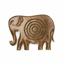 Wooden Labyrinth - Elephant - Matr Boomie