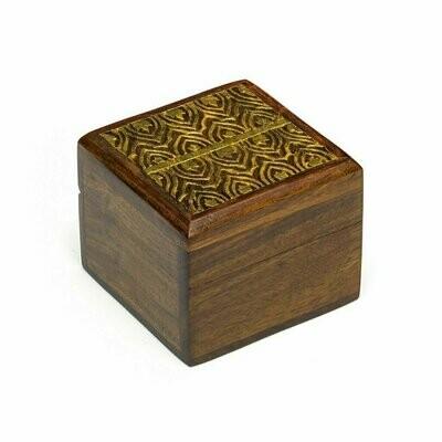 Wood Kashvi Keepsake Box - Temple - Matr Boomie (B)