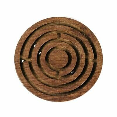 Classic Round Labyrinth Game - Matr Boomie