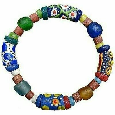 Recycled Glass Bead Sister Bracelet - Global Mamas