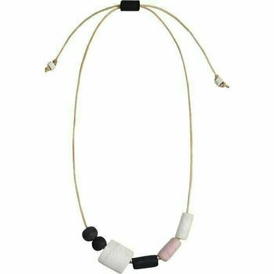 Kalahari Necklace Neutral - Global Mamas (Jewelry)