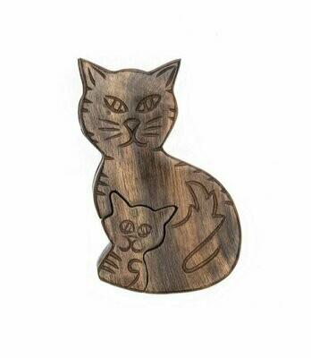 Mama Cat Puzzle Box - Matr Boomie