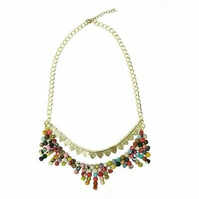 Kantha Tribal Necklace - assorted - WorldFinds