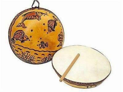 Ocean Gourd Drum - Jamtown World Instruments