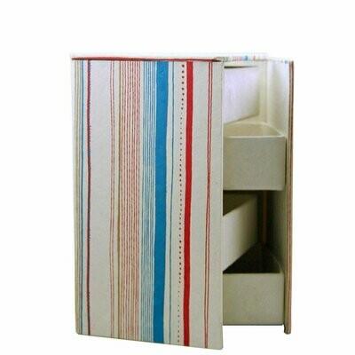 Swivel Jewelry Box - Fame Design - Sustainable Threads (J)