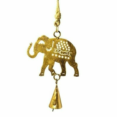 Elephant Cutout Chime - Mira (Bell)