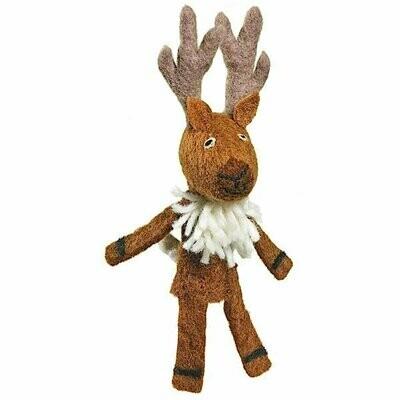 Woolie Finger Puppet - Deer - Wild Woolies (T)