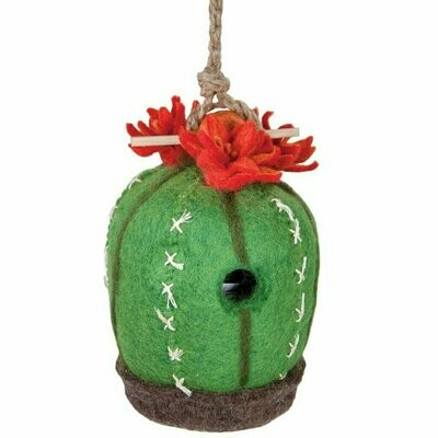 Felt Birdhouse - Cactus - Wild Woolies