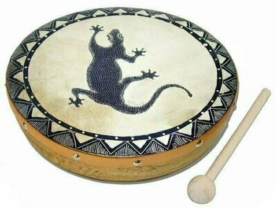 Frame Drum Gecko - Jamtown World Instruments