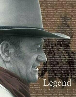 Tin Sign John Wayne - Legend