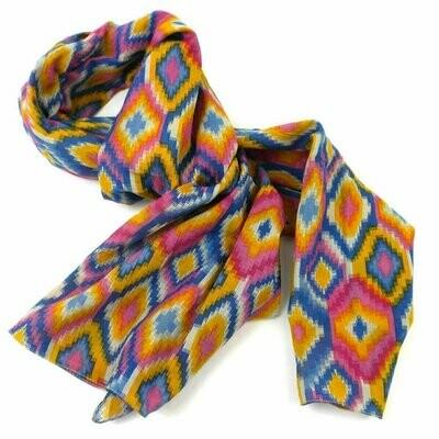 Multicolored Kilim Cotton Scarf - Asha Handicrafts