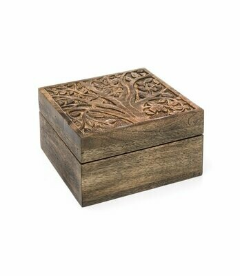Aranyani Mango Wood Compartment Box - Matr Boomie (B)