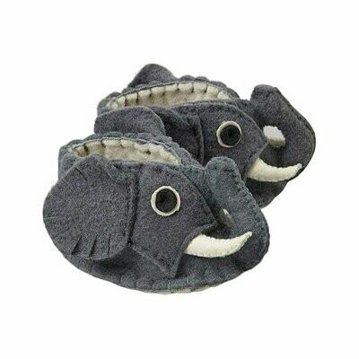 Elephant Zooties Baby Booties - Silk Road Bazaar