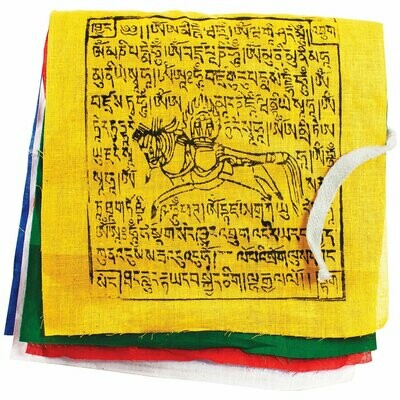 Prayer Flag: GCS Windhorse, Small - Tibet Collection