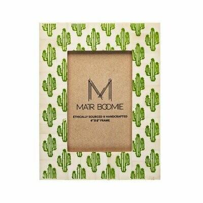 Cactus Frame - 4 x 6 - Matr Boomie (P)