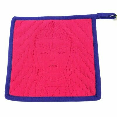 Buddha Hot Pad Pink Purple - Jeevankala (T)