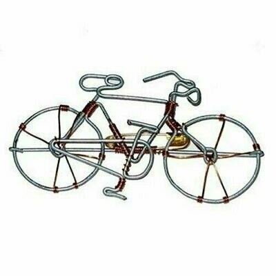 Wire Bicycle Pin - Creative Alternatives