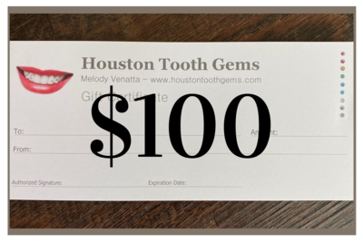 $ 100 GIFT CERTIFICATE