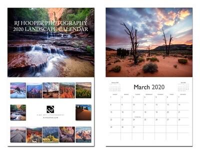 2020 Landscape Calendar