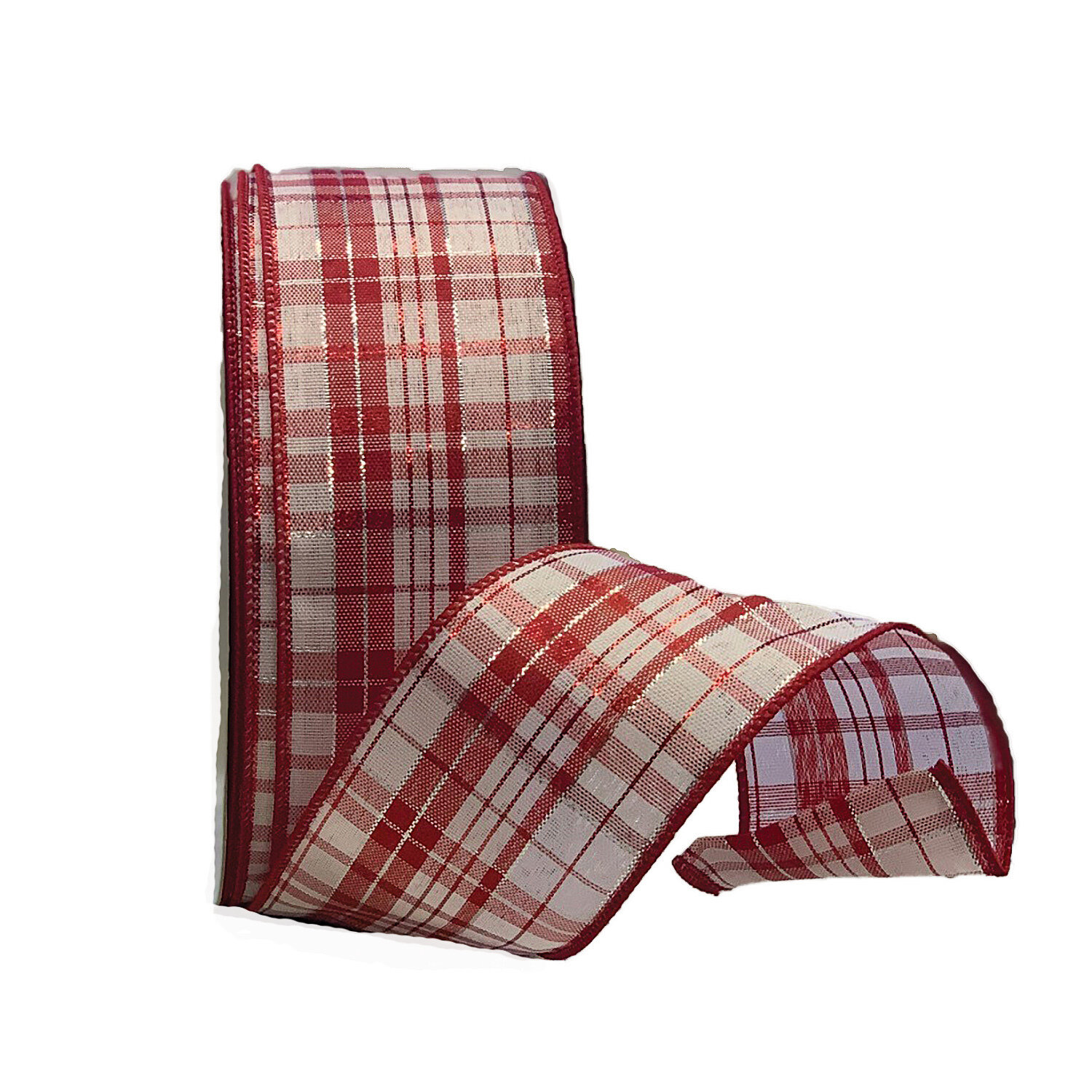​JOYFUL40 - #40 plaid red/white