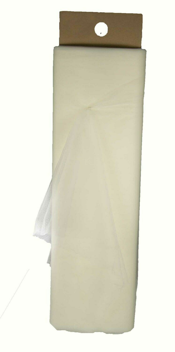 1366IV -54 x 40 yards Ivory Tulle Roll $16.95 each Minimum: 1 pc Case Pack: 12 pcs