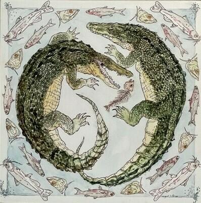 Gator Lagoon by Margaret Perez