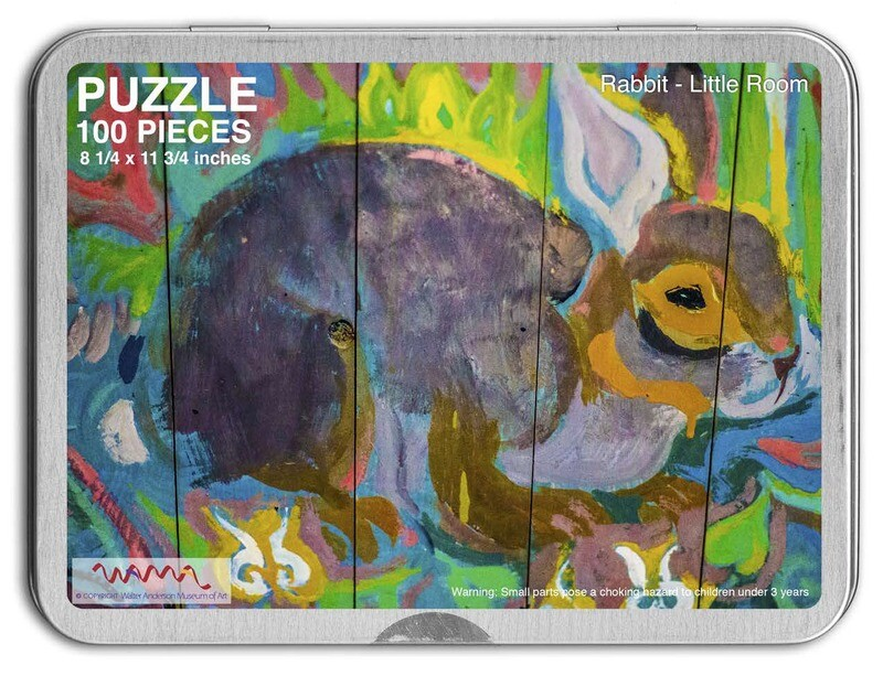 Little Room Puzzle South Wall Rabbit