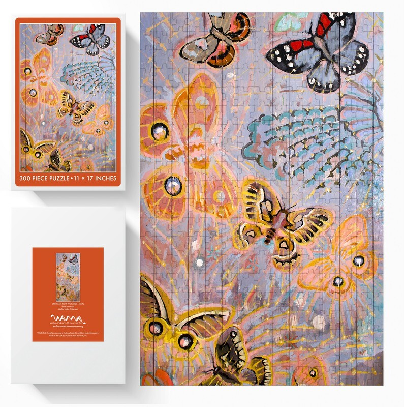 Little Room North Wall Moths 300pc Puzzle