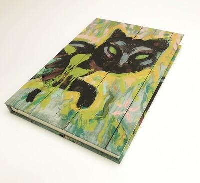 Little Room Black Cat Hard Cover Journal