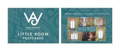 "Walter Anderson "" Little Room""  WAMA 6pk Post Card Set"