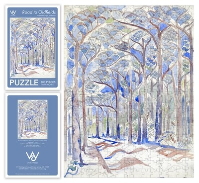 Road To Oldfields 300 Piece Puzzle