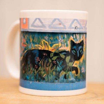 Evening Cat Mug