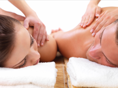 90 Minutes Swedish Couples Massages with Aromatherapy, Scalp Massage, and Hot Towel Foot