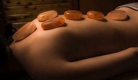 60 Minutes Session Himalayan Salt Stone Massage with Aromatherapy, Aroma Scalp Massage and A Free Himalayan Salt Stone