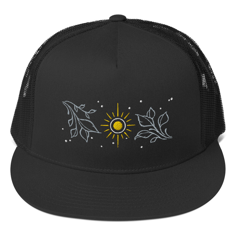 Mystic floral hat