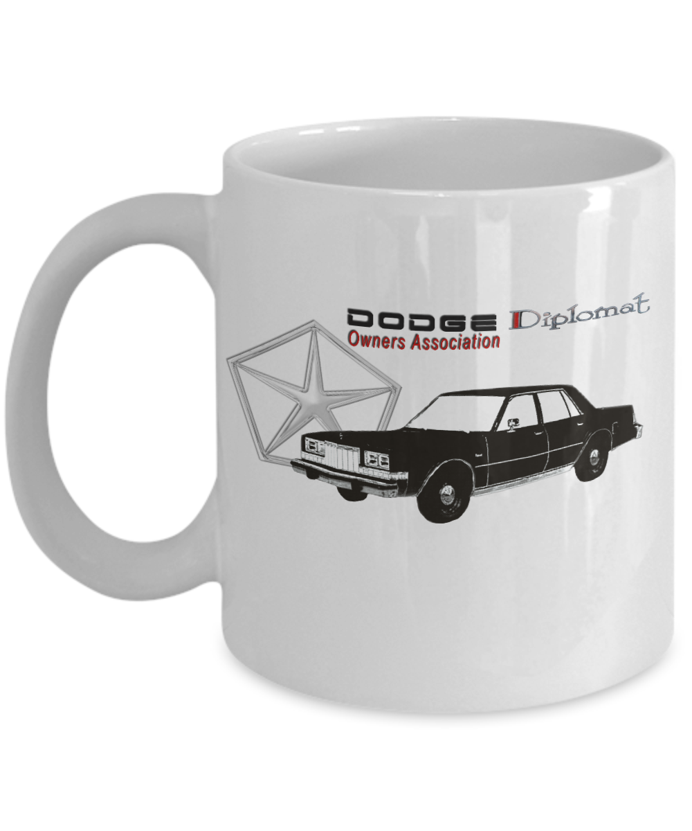 Dodge Diplomat Owners Association Mug
