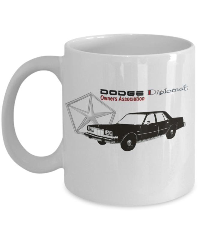 Dodge Diplomat Owners Association Mug