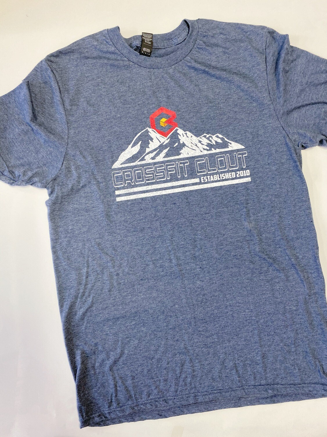 CrossFit Clout (mountains) short sleeve T