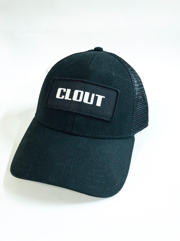 Black / black ball cap