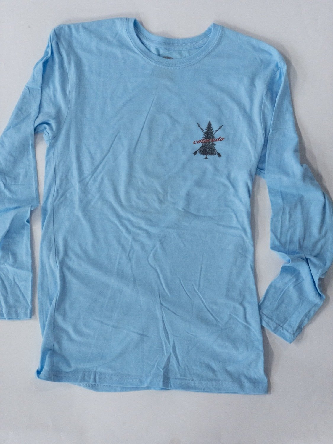 Blue Colorado Tree T-shirt