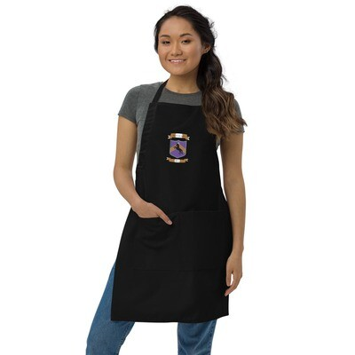 Embroidered Apron - Donnie D's Crest Logo