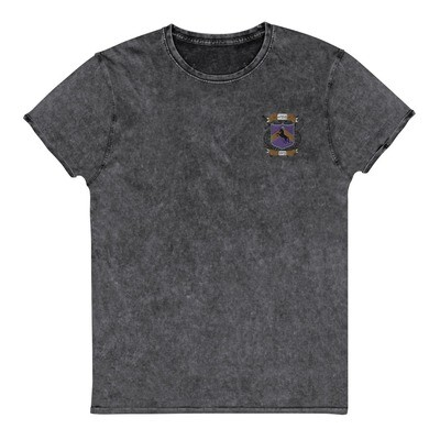 Denim T-Shirt - Donnie D's Crest Logo