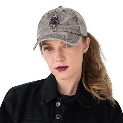 Vintage Cotton Twill Cap - Donnie D's Spices Logo