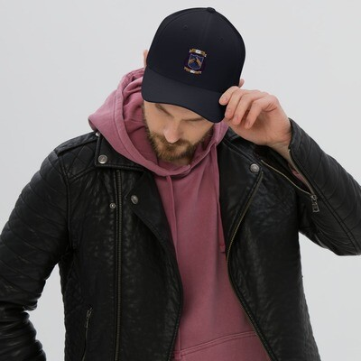 Structured Twill Cap - Donnie D's Spices Logo