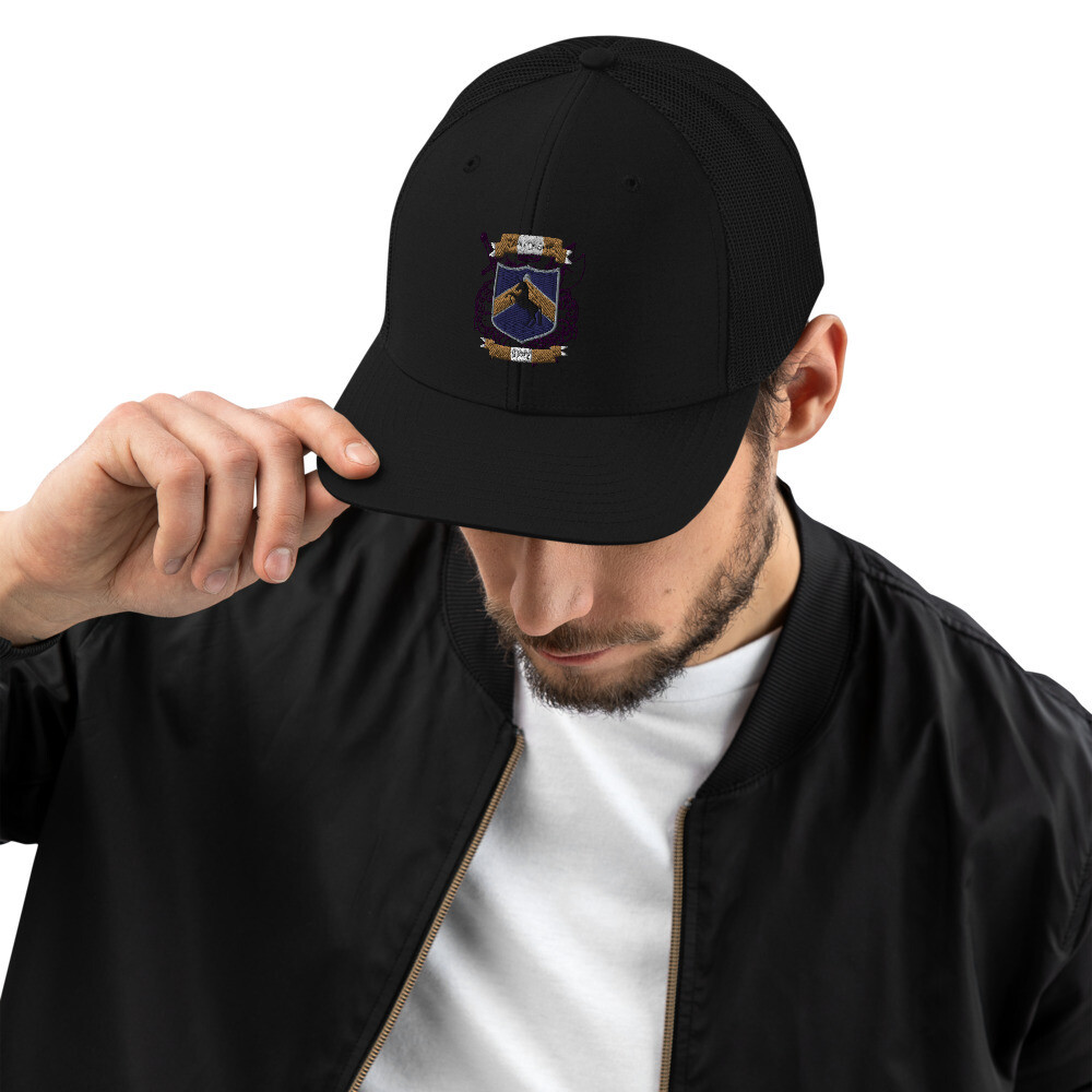 Snapback Trucker Cap - Donnie D's Spices Logo