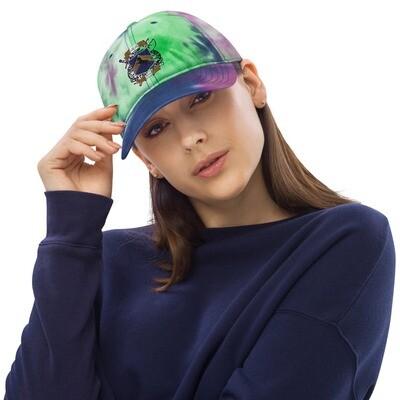 Tie dye hat - Donnie D's Spices Logo